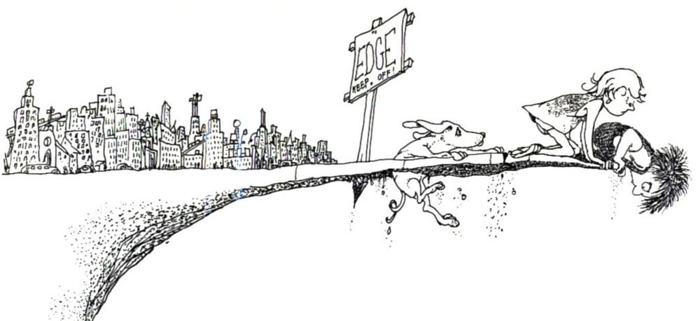 Shel Silverstein -Where the Sidewalk Ends