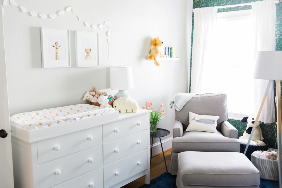 Neutral Baby Nursery Kathryn McCrary Photography