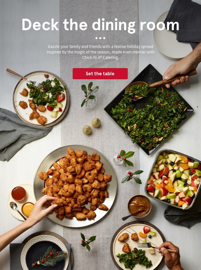 Chick-fil-A - National Catering Campaign