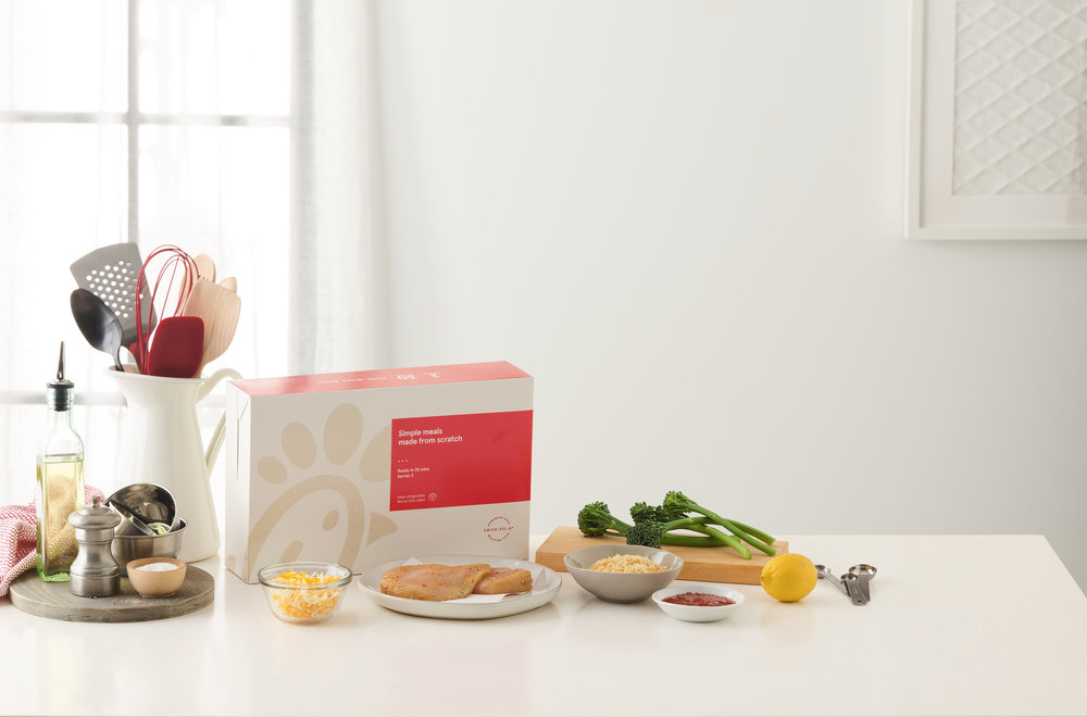 Chick-fil-A Mealtime Kits - Campaign Photos