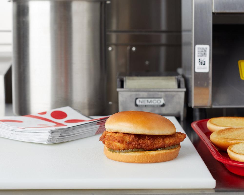 The Chick-fil-A Sandwich -