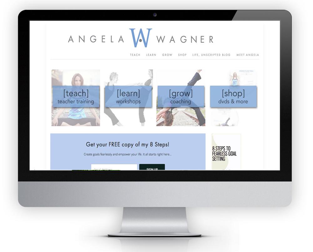 ANGELAWAGNERYOGA.COM  SQUARESPACE | PERSONAL BRAND