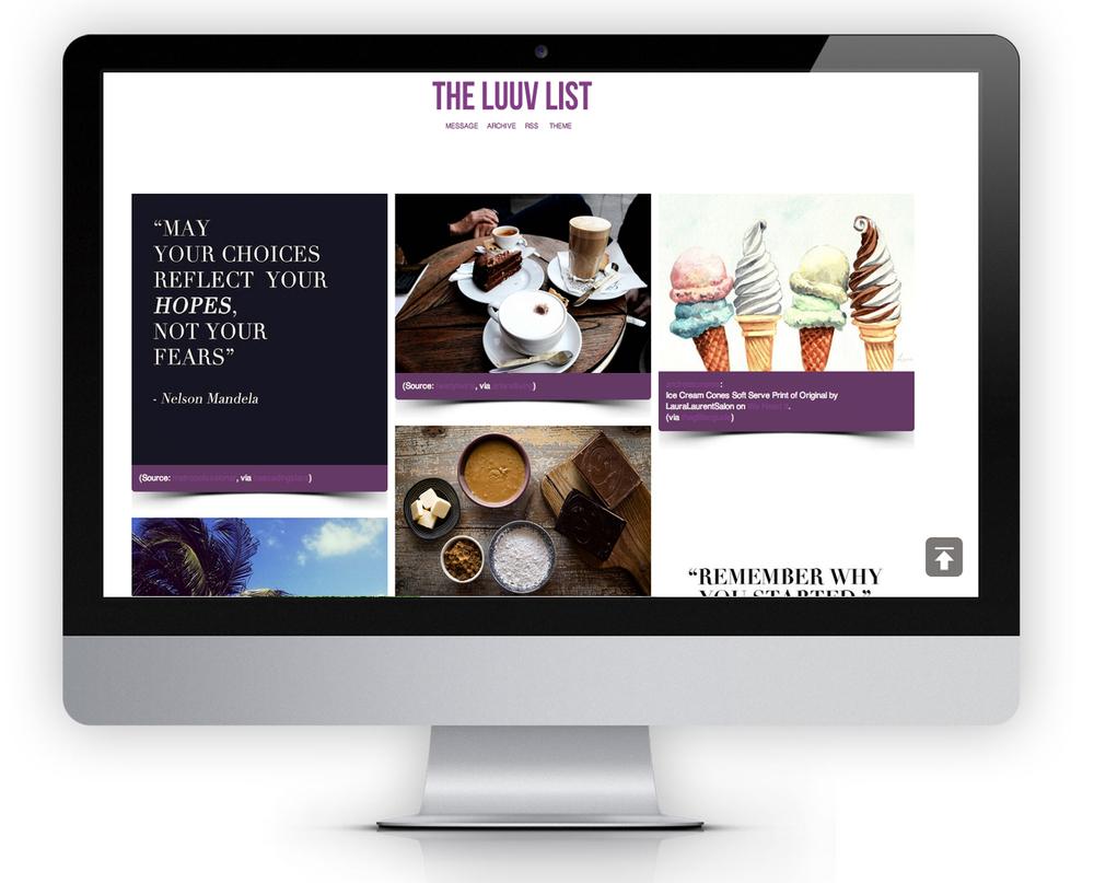 LUUVLIST.TUMBLR.COM TUMBLR | PURE INSPIRATION