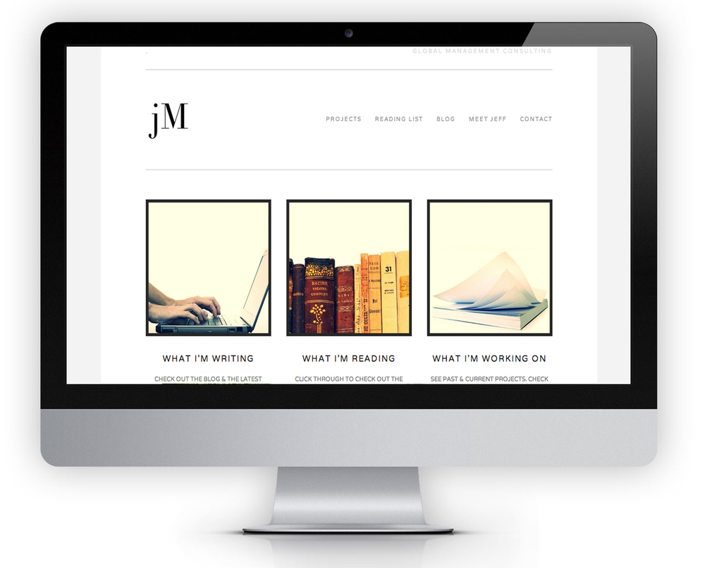JEFFREYMCGRATH.COM  SQUARESPACE | ADVISOR