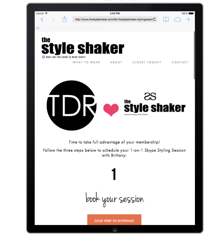 ThreeDayRule.com + The StyleShaker Styling Partnership