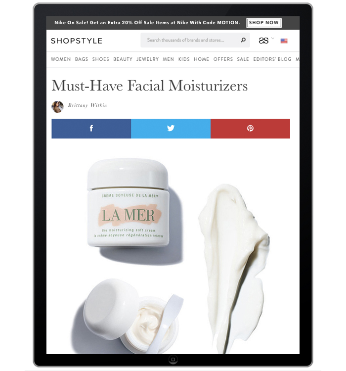 Shopstyle.com Skincare Featured Post