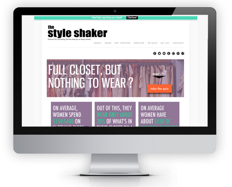 www.thestyleshaker.com | Personal Shopping & Fashion Content Site