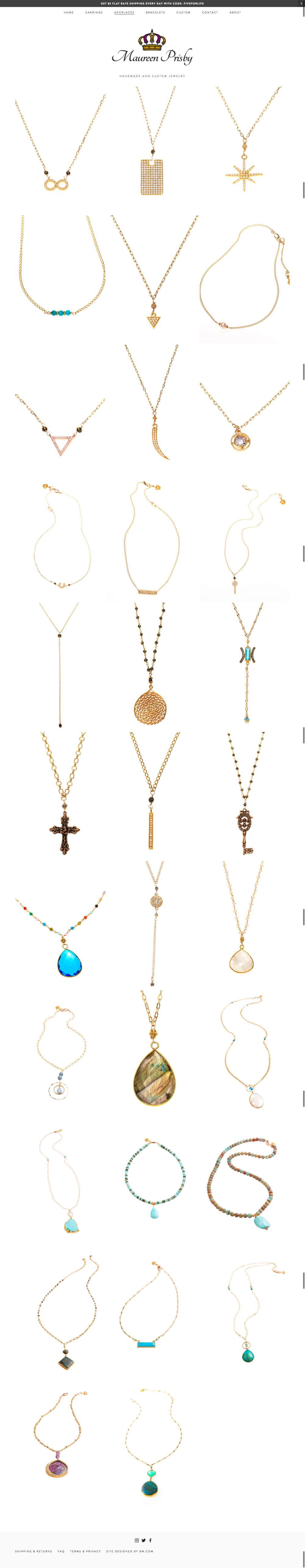 After- Category Page, Necklaces