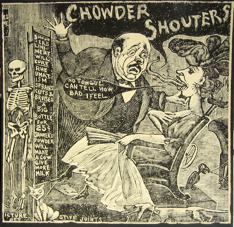 Chowder Shouters cover 1987