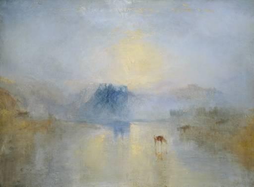 JMW Turner Norham Castle Sunrise