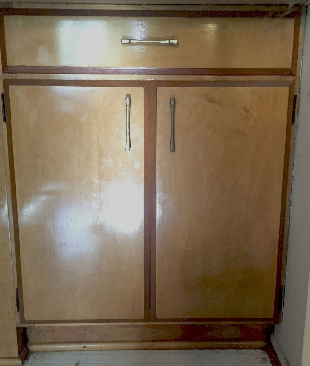 The ugliest cabinets in all the land