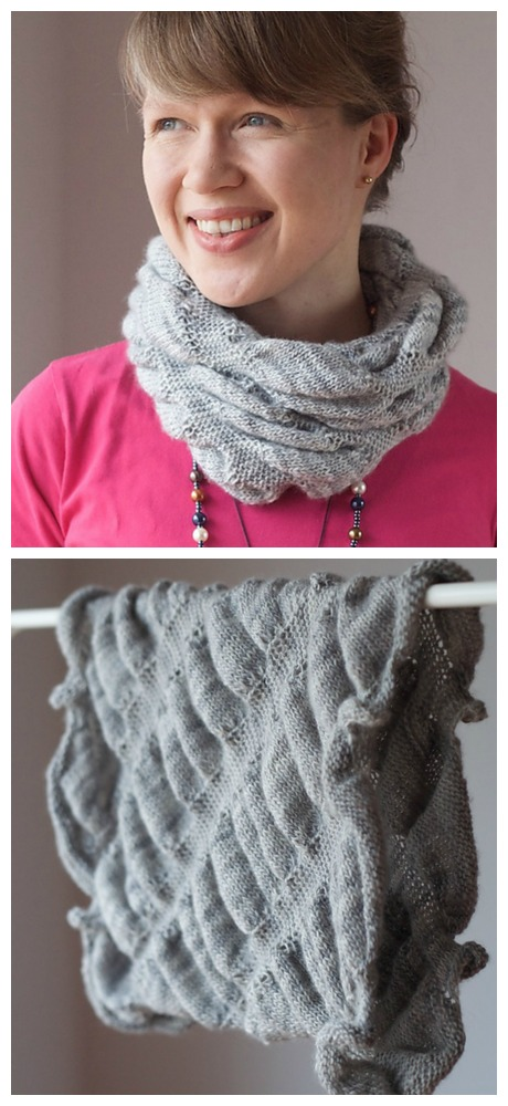 Wolkig Cowl photos by Martina Behm