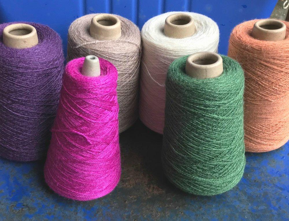 Merino/silk