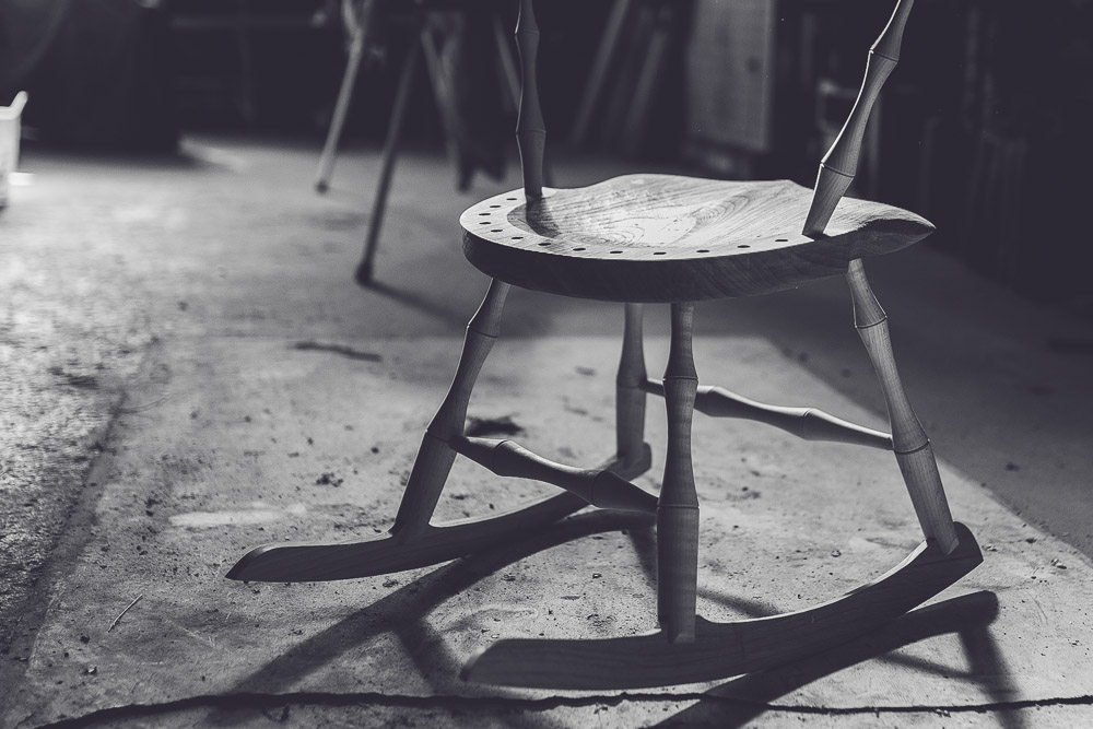 Melbourne lifestyle photographer Marnie Hawson's An Honest Trade project - chairmaker Rundell & Rundell, Kyneton