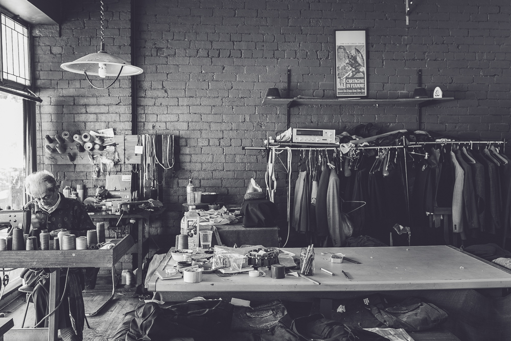 Melbourne lifestyle photographer Marnie Hawson's An Honest Trade project - tailor