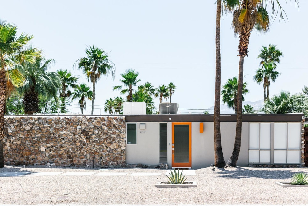 Marnie Hawson Melbourne travel photographer, Palm Springs mid century homes