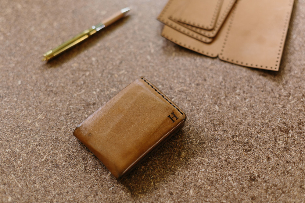 Melbourne lifestyle photographer Marnie Hawson's An Honest Trade project - leather maker