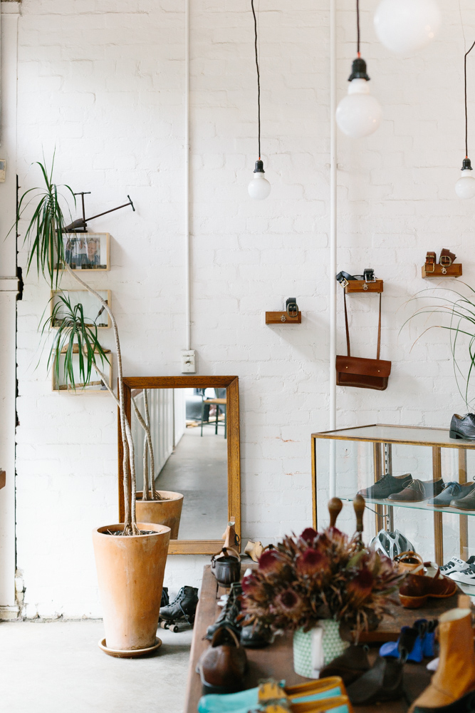 Melbourne lifestyle photographer Marnie Hawson's An Honest Trade project - cordwainer Jess Wootten