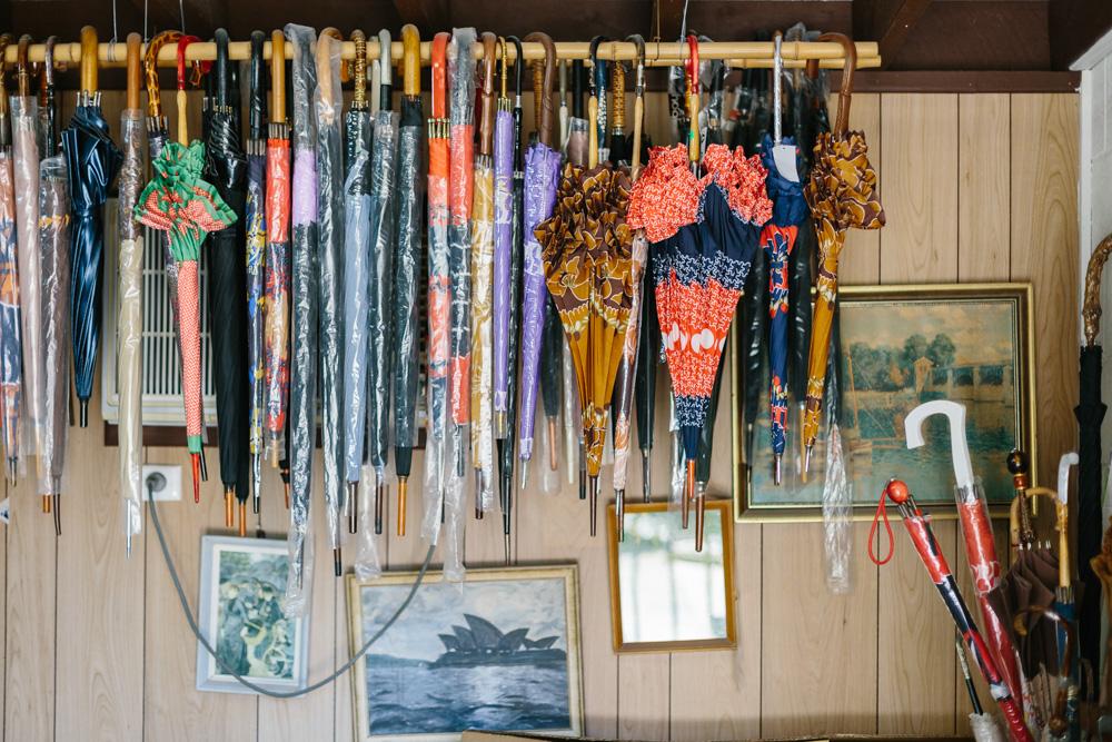 Melbourne lifestyle photographer Marnie Hawson's An Honest Trade project - Mora Igra, umbrella maker