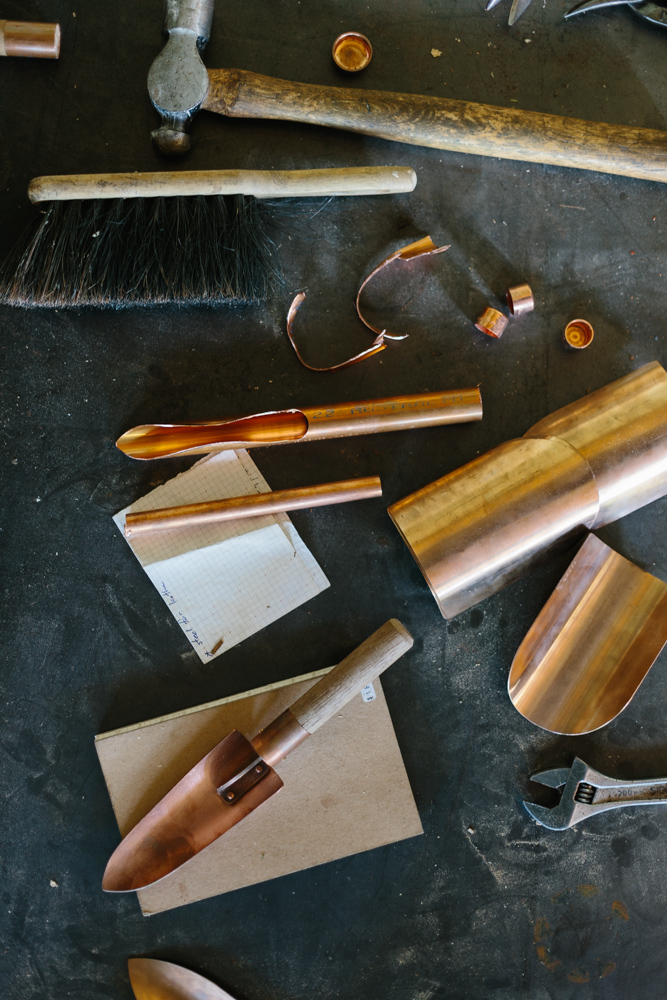 Melbourne lifestyle photographer Marnie Hawson's An Honest Trade project - coppersmith Grafa Garden