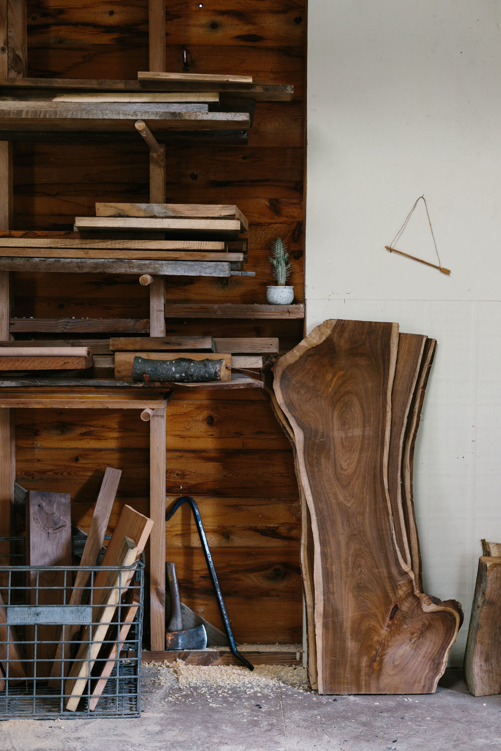 Marnie Hawson, Melbourne lifestyle photographer and An Honest Trade -     woodworker Erin Malloy