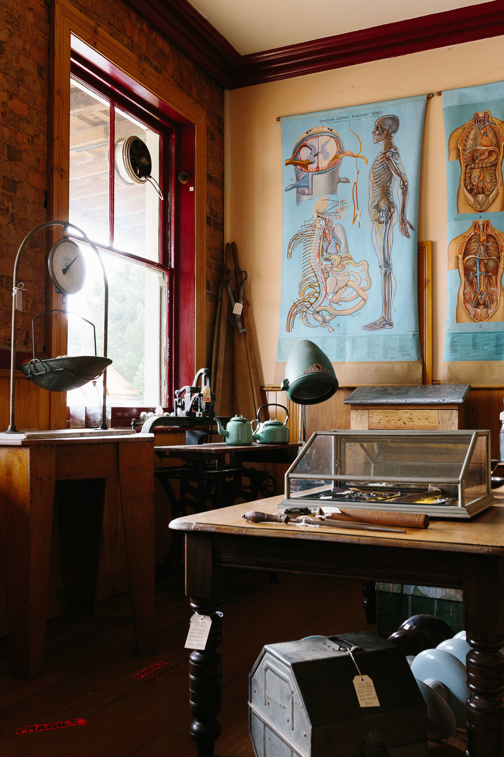 Melbourne lifestyle photographer Marnie Hawson's An Honest Trade project - antique dealer The Wooden Duck in Trentham