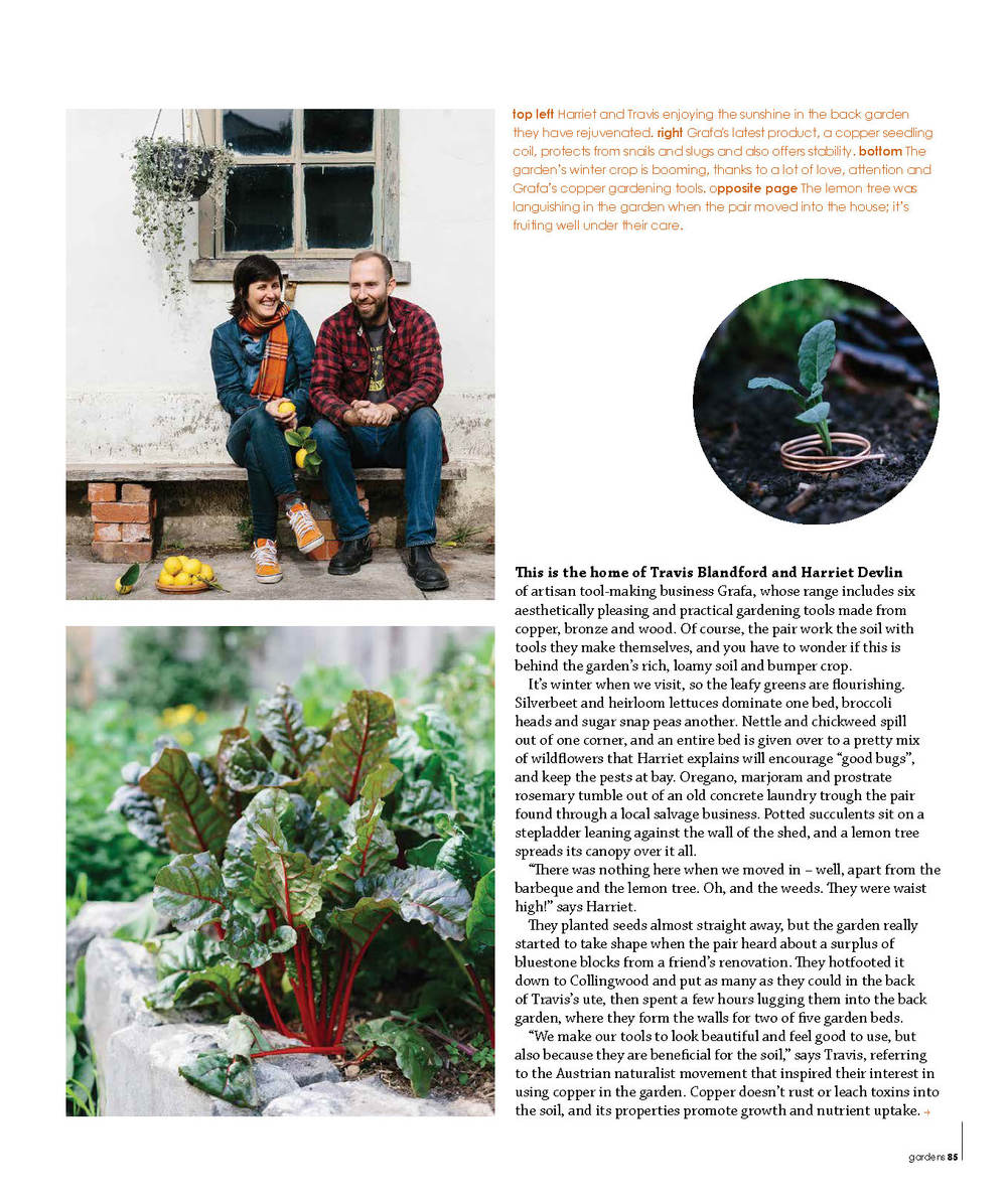 Marnie Hawson for Green Magazine, Issue 45