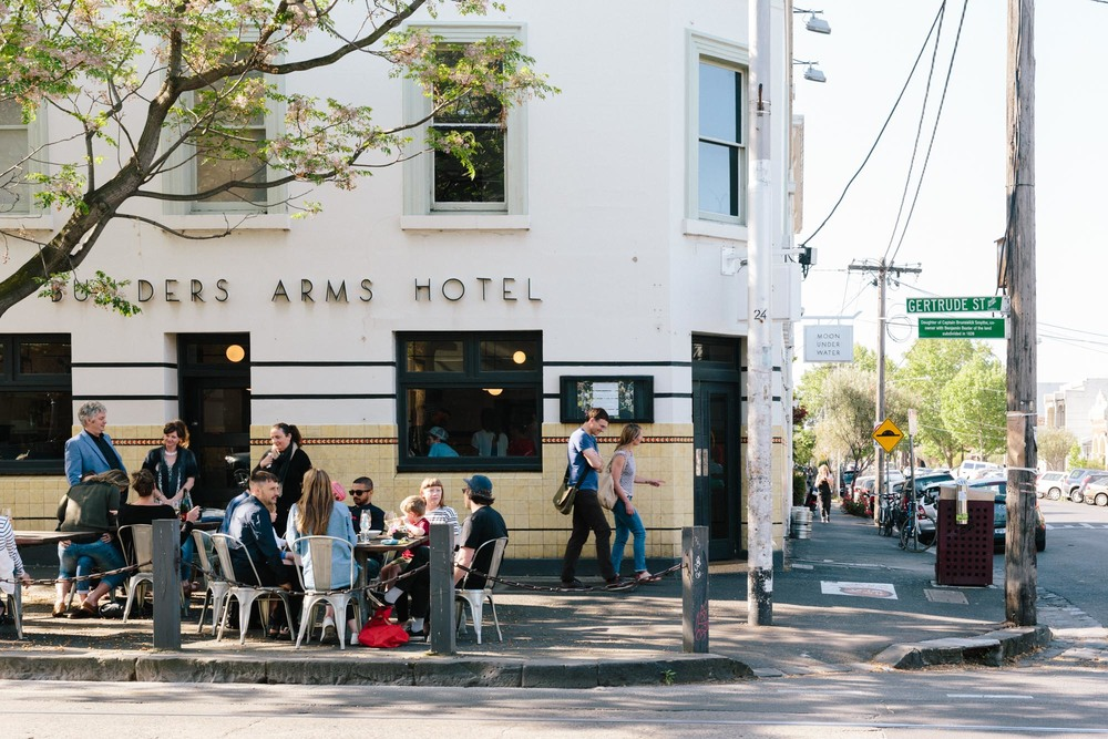 Marnie Hawson for Airbnb Neighbourhoods Guide (Melbourne), Spring 2015