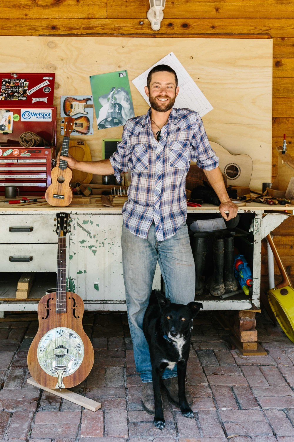 Marnie Hawson lifestyle photographer and An Honest Trade - Luthier