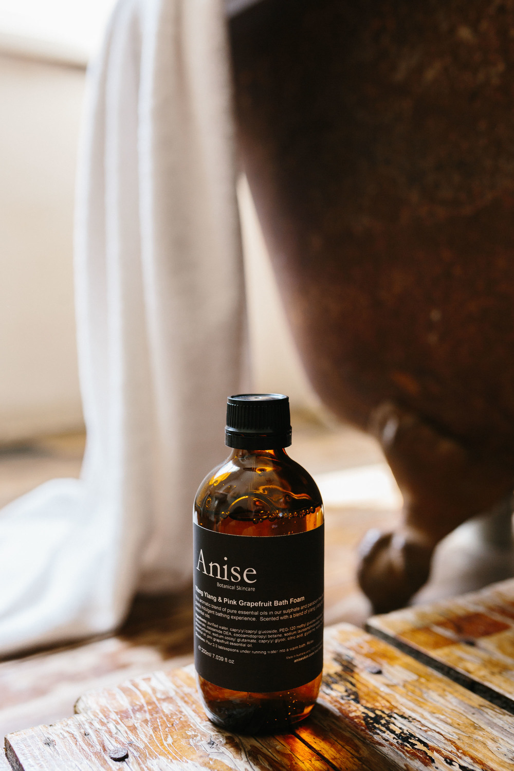 Marnie Hawson, Melbourne lifestyle photographer, for Anise Botanical Skincare