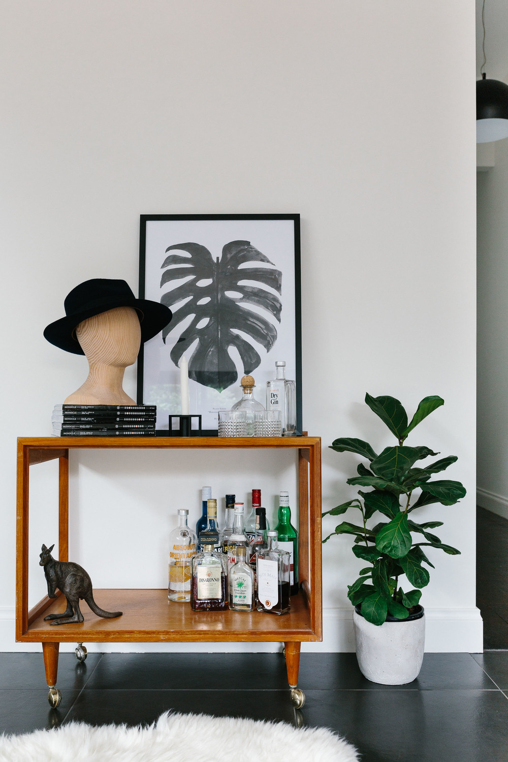 Melbourne lifestyle photographer, Marnie Hawson, for Miss Glass Home
