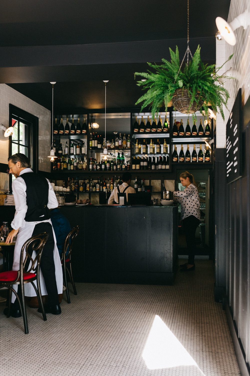 Marnie Hawson, Melbourne lifestyle photographer, for The Downtime Agenda and Justine Schofield at Entrecote