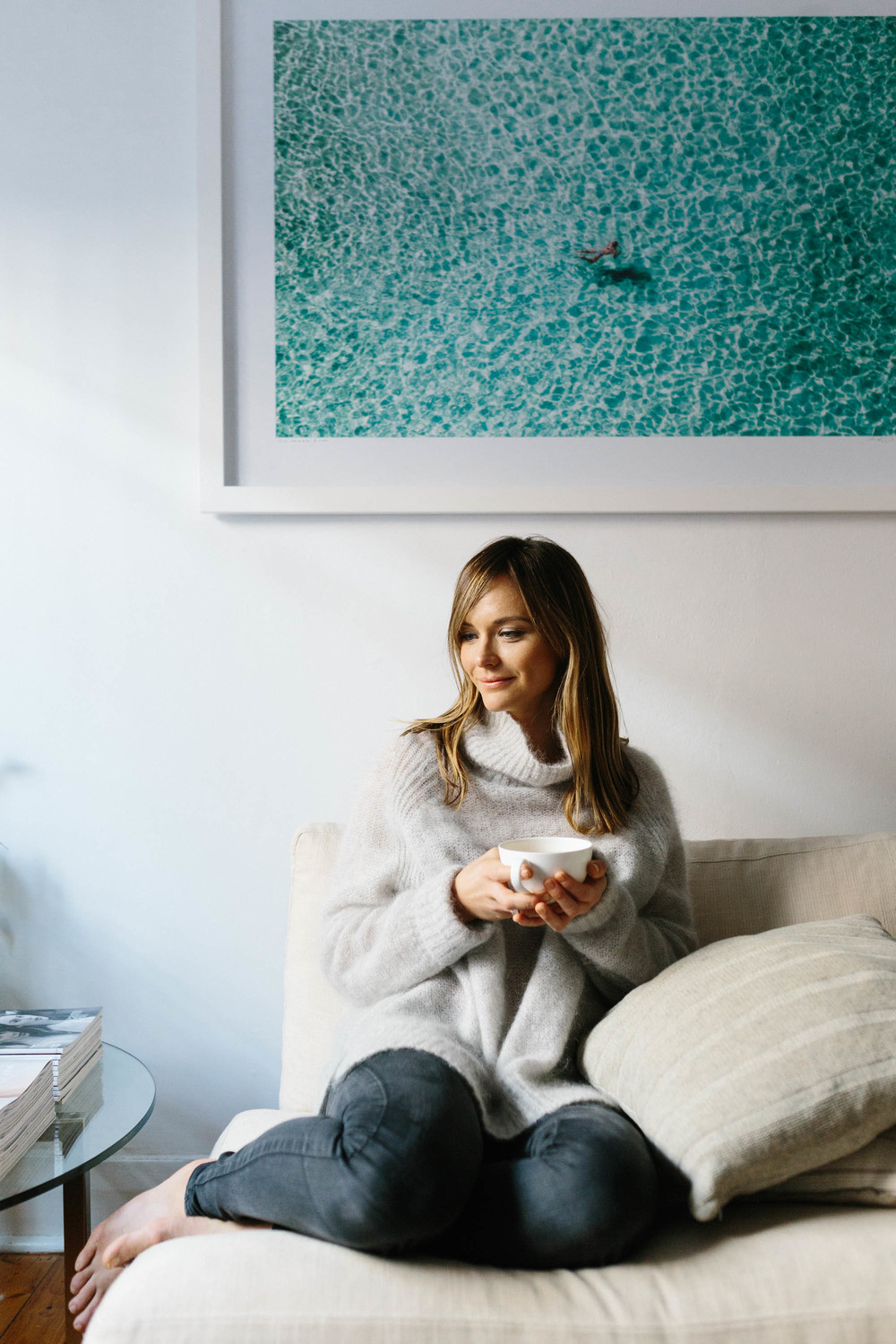 Marnie Hawson, Melbourne lifestyle photographer for The Downtime Agenda and Jacqueline Alwill