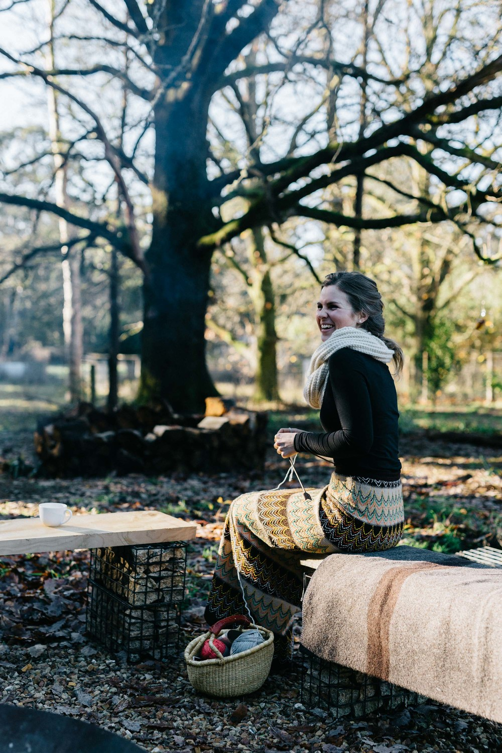 Marnie Hawson, Melbourne lifestyle photographer for Knitting in Provenance workshop, by Wool Days + Lovewalkeatsee