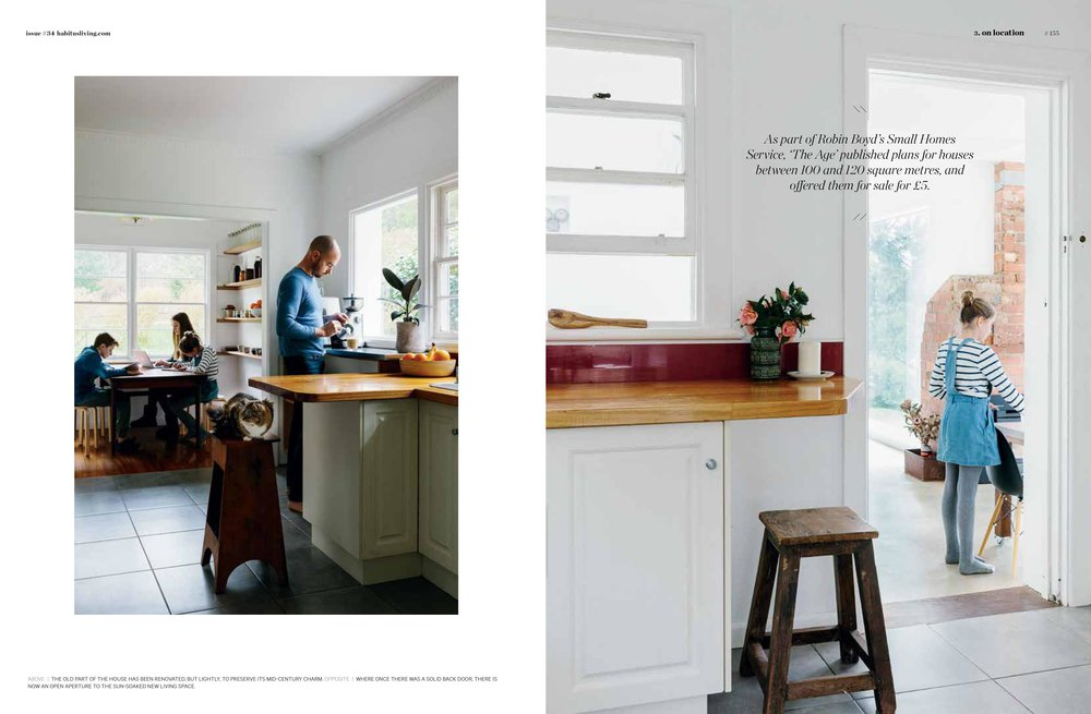 Marnie Hawson, Melbourne interior photographer for Habitus Magazine (A Plot in Common, Lauriston)