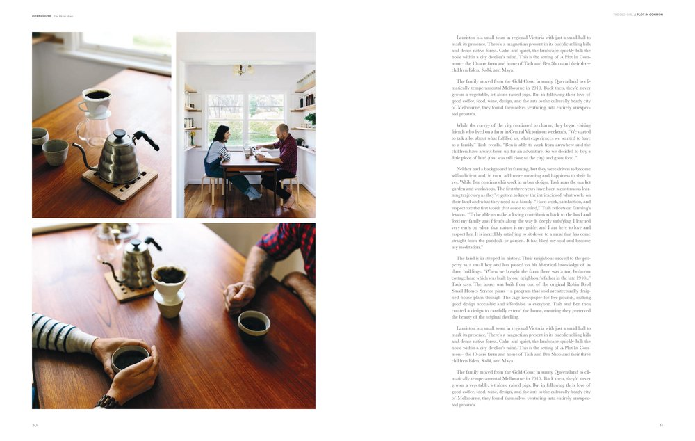 Openhouse magazine, Issue #6 - The Old Girl, Lauriston. Photo: Marnie Hawson