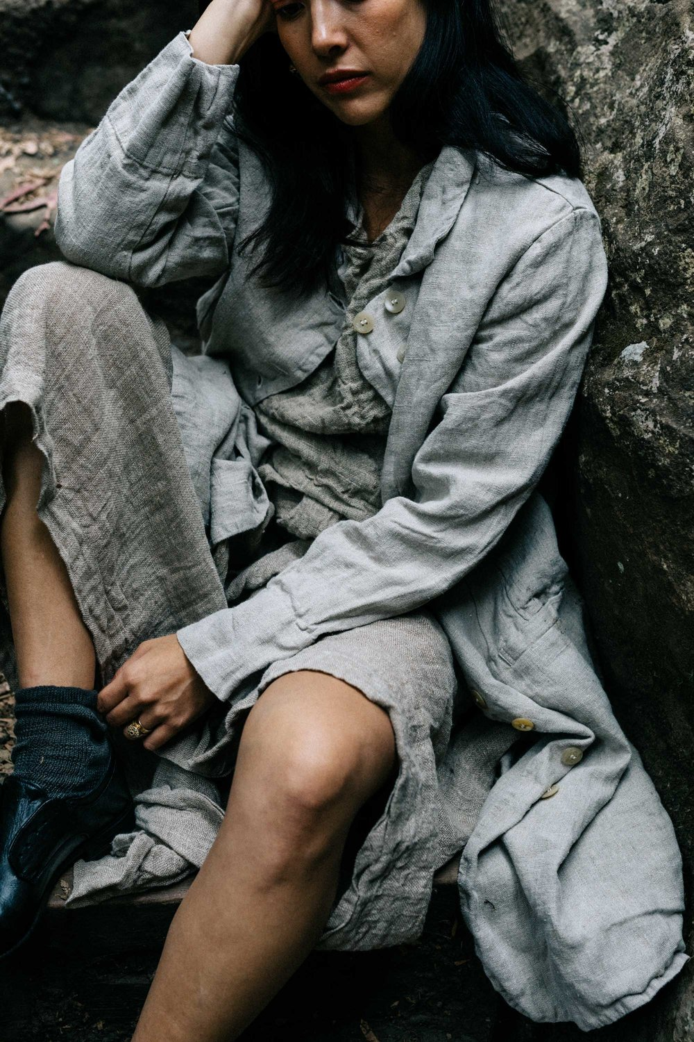 Marnie Hawson for Metta Melbourne, pure linen clothing