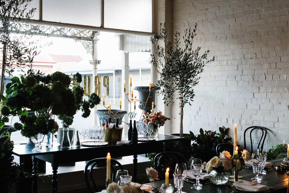 Marnie Hawson, Melbourne lifestyle photographer for Prunella, botanical stylists, Kyneton