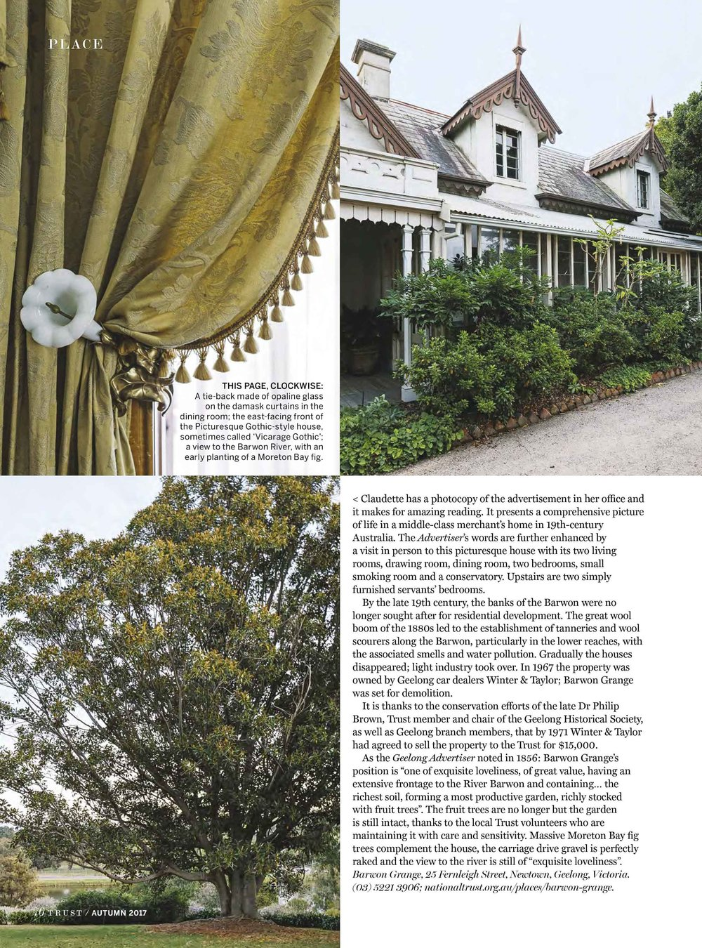 Marnie Hawson, Melbourne interior photographer for Trust magazine, Issue 2 (Barwon Grange)