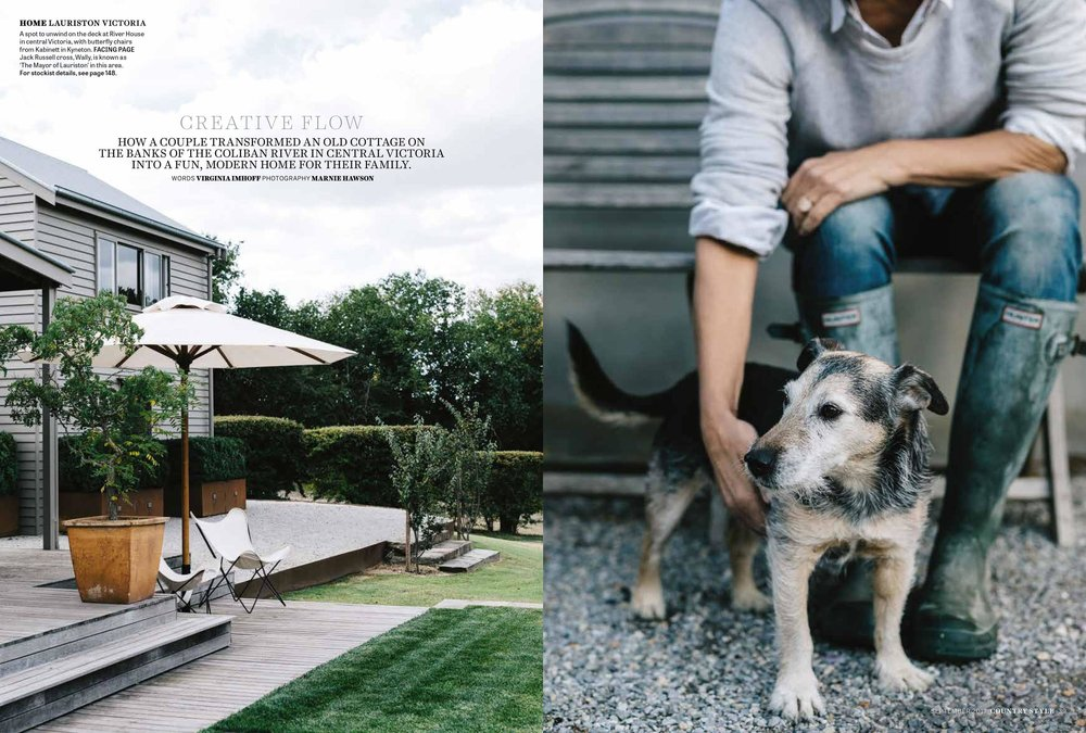 Marnie Hawson, Melbourne interior photography, for Country Style magazine and Riverhouse, Lauriston