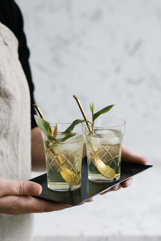 Marnie Hawson, Melbourne food photographer for Wood Lane relaxation botanicals