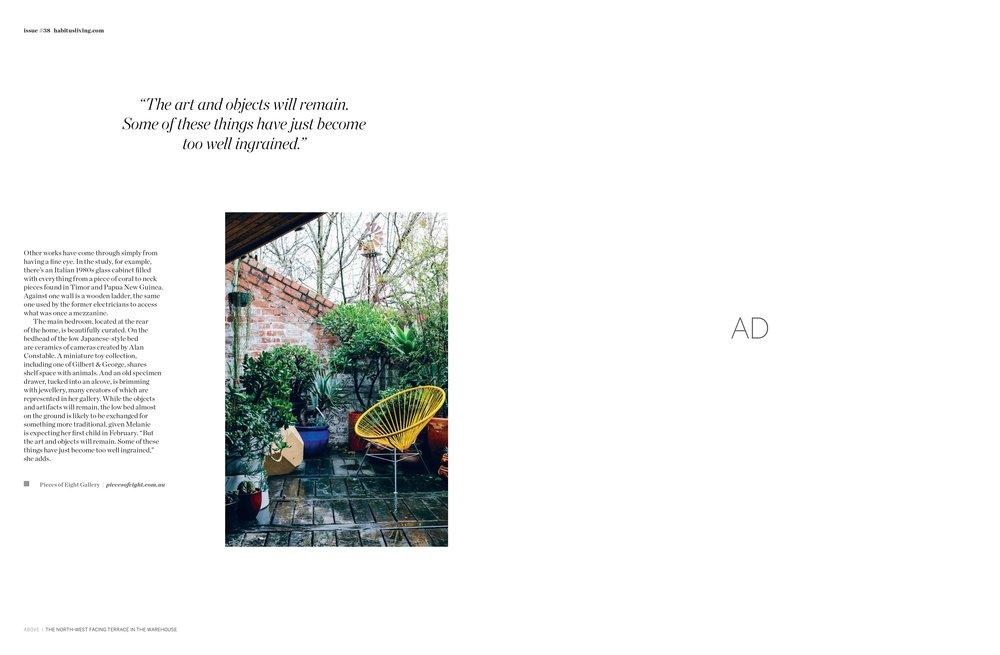 Marnie Hawson, Melbourne interior photographer, for Melanie Katsalidis and Habitus magazine