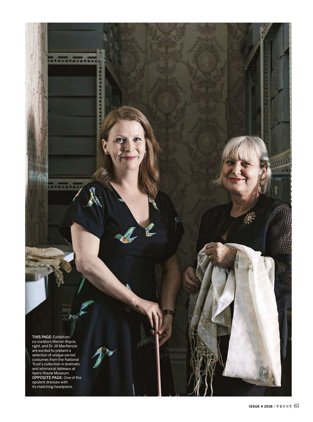 Marnie Hawson, Melbourne lifestyle photography, for Ayers House, Adelaide and The National Trust, with Marion Boyce, costume designer.