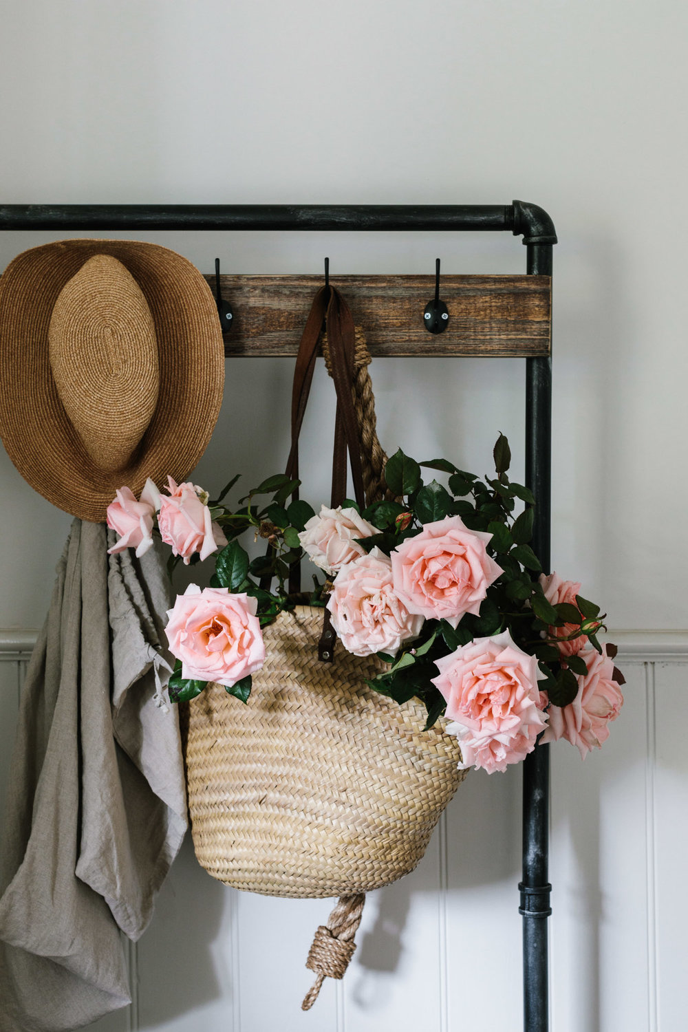 Marnie Hawson, Melbourne purpose-driven photographer for Acre of Roses, Trentham. A sustainable flower farm and luxury country accommodation. Styled by Belle Hemming.