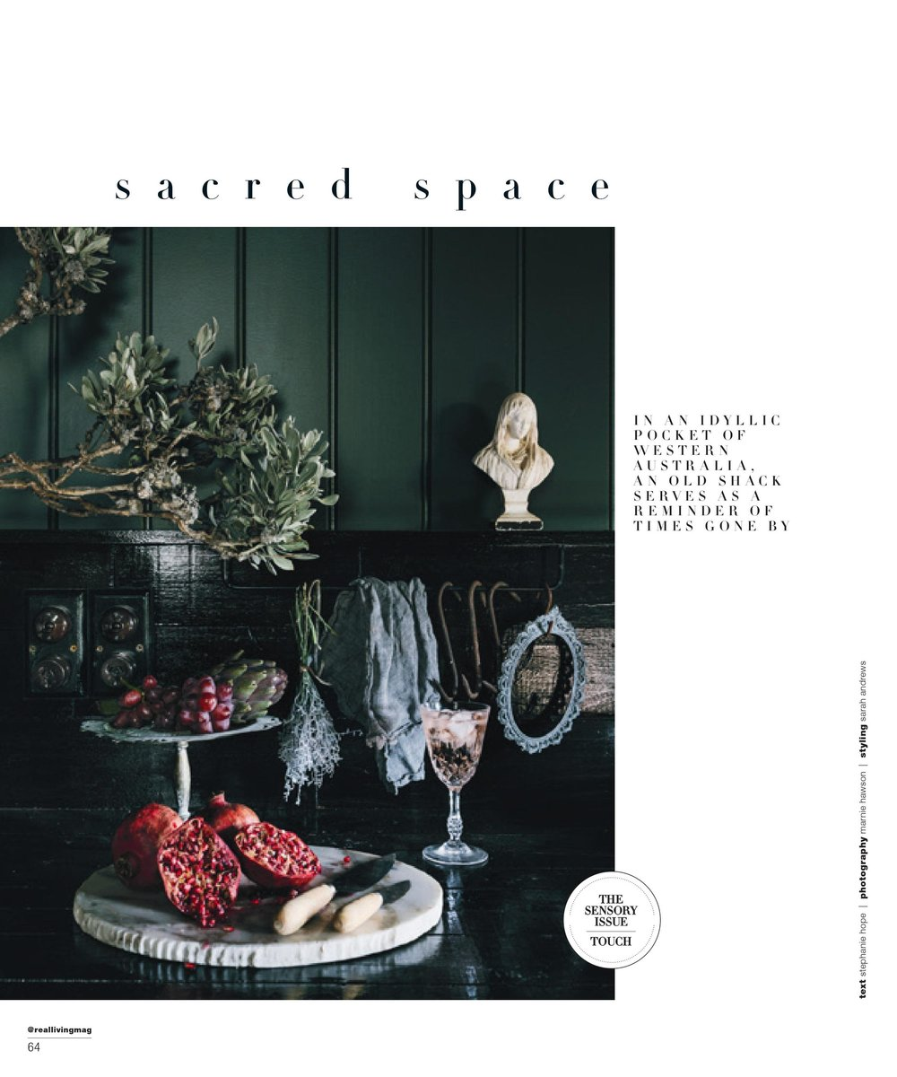 Marnie Hawson, Melbourne interior photographer for The Nun's Room and Real Living