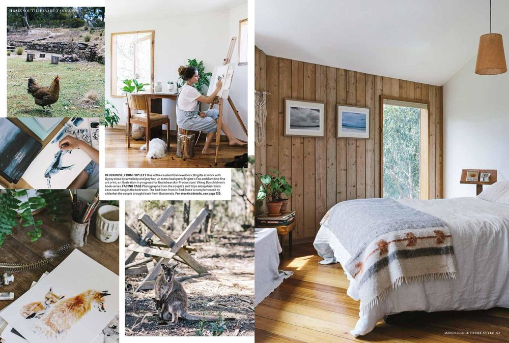 Marnie Hawson, Melbourne lifestyle photography for Brigitte May and Country Style magazine
