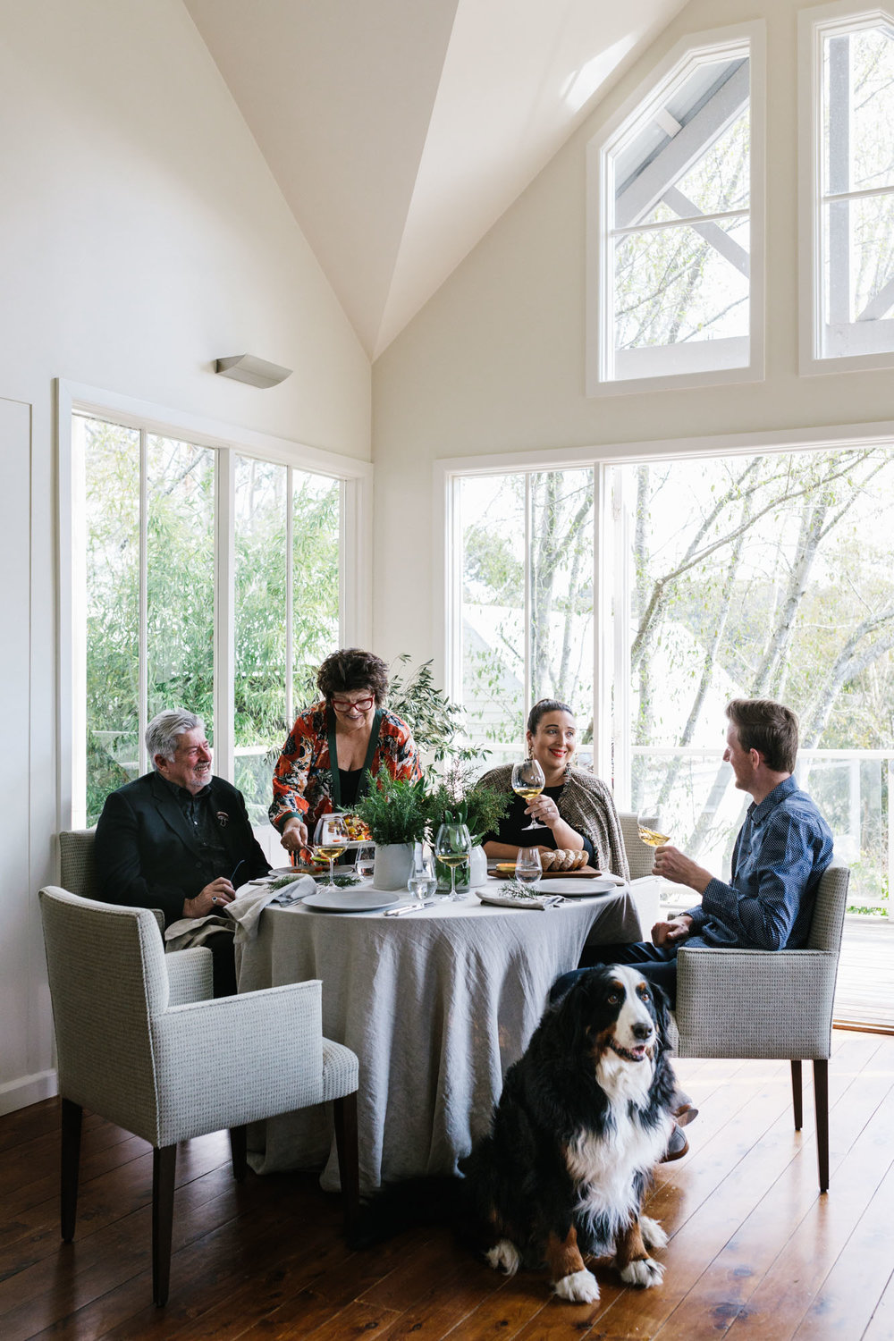 Christmas with Alla Wolf-Tasker at the Lakehouse, Daylesford for Australian House & Garden. Photography by Melbourne food photographer Marnie Hawson and styled by Inside Story.