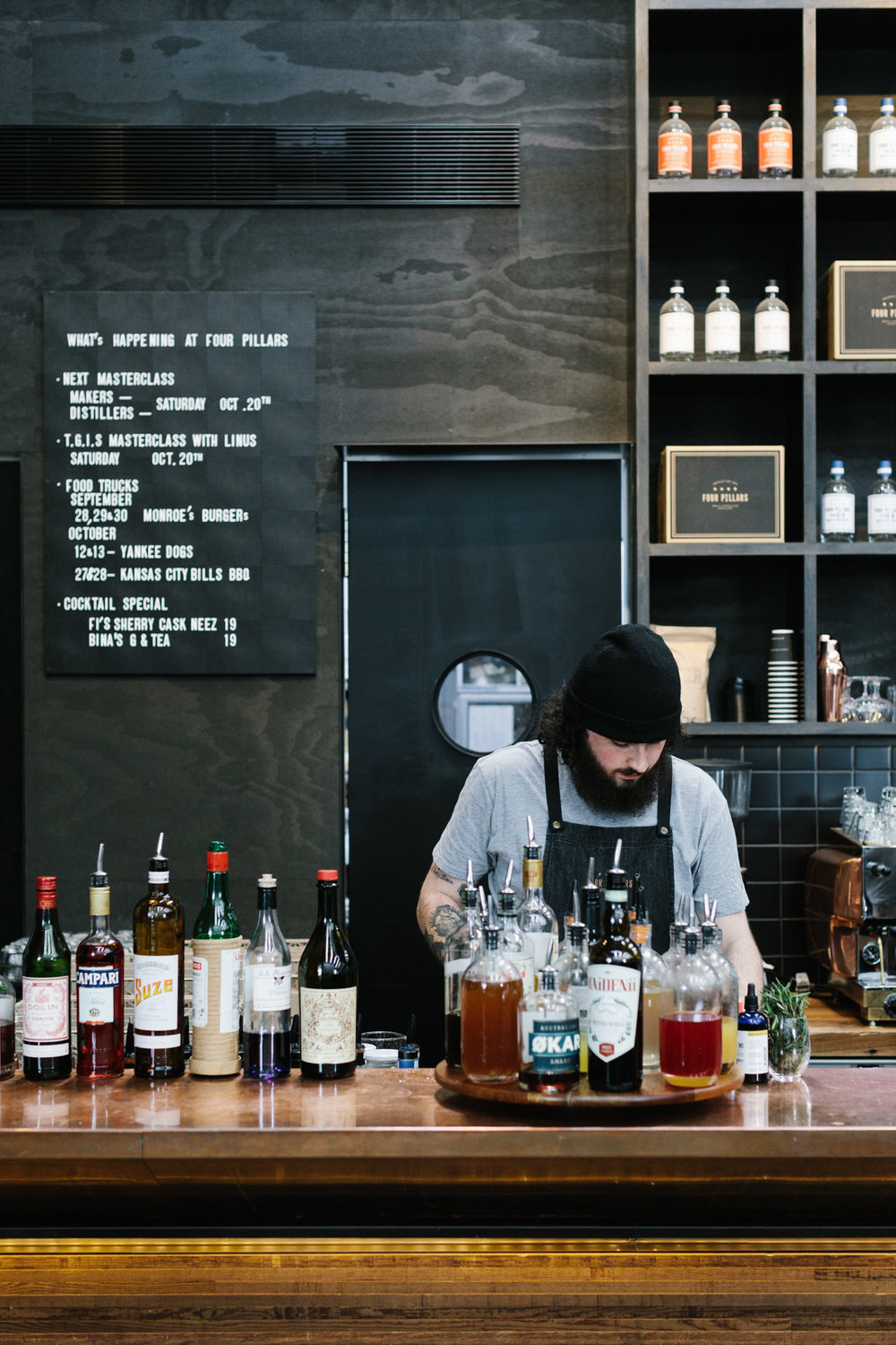 Marnie Hawson, Melbourne food photographer for Country Style magazine and Four Pillars Gin