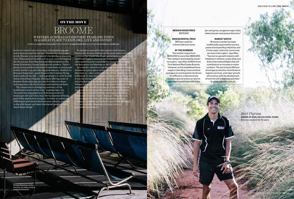 Melbourne travel photographer, Marnie Hawson for Broome, Western Australia and Country Style