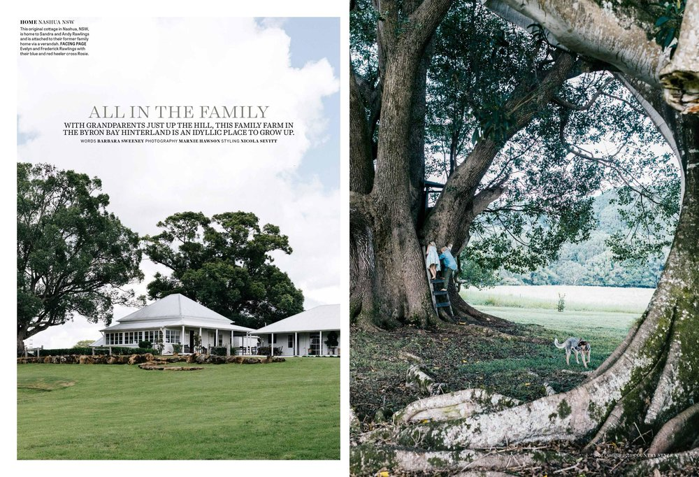 Melbourne interior photographer Marnie Hawson for Fridas Field, Nashua and Country Style